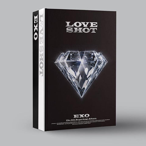 EXO 5TH ALBUM REPACKAGE 'LOVE SHOT'