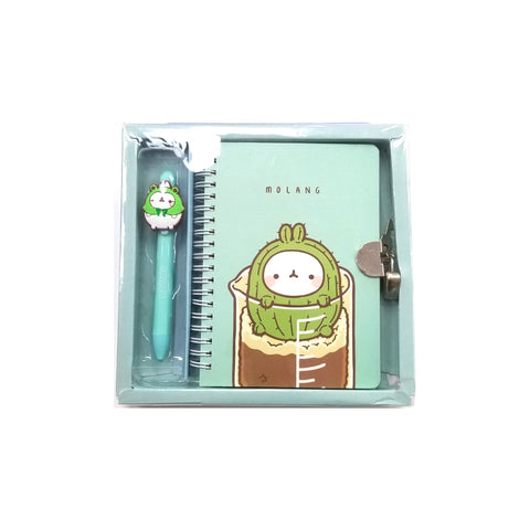 MOLANG SECRET DIARY + BALLPOINT PEN