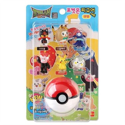 Pokemon Figure Set 6pc