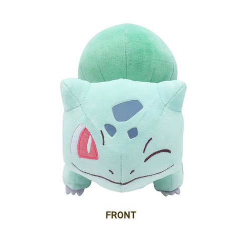 POKEMON WINKING PASTEL BULBASAUR PLUSH