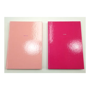 Peach/ Think - Hardcover Mini Notebook