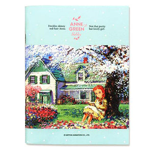 RED-HAIR ANNE MINI STAPLE-BOUND NOTEBOOK