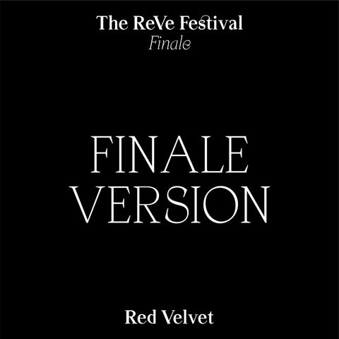 RED VELVET REPACKAGE ALBUM 'THE REVE FESTIVAL FINALE' FINALE Ver.