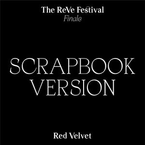 RED VELVET REPACKAGE ALBUM 'THE REVE FESTIVAL FINALE' SCRAPBOOK Ver.