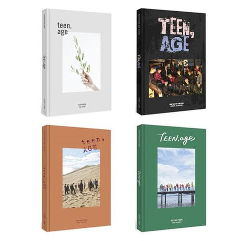 SEVENTEEN 2ND ALBUM 'TEEN, AGE'