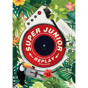 SUPER JUNIOR 8TH ALBUM REPACKAGE 'REPLAY'