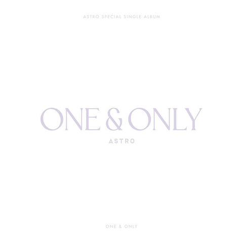 ASTRO SPECIAL SINGLE ALBUM 'ONE & ONLY'