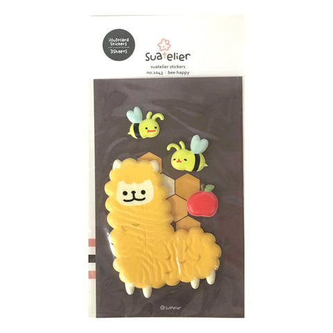 Suatelier 'Bee Happy' Stickers
