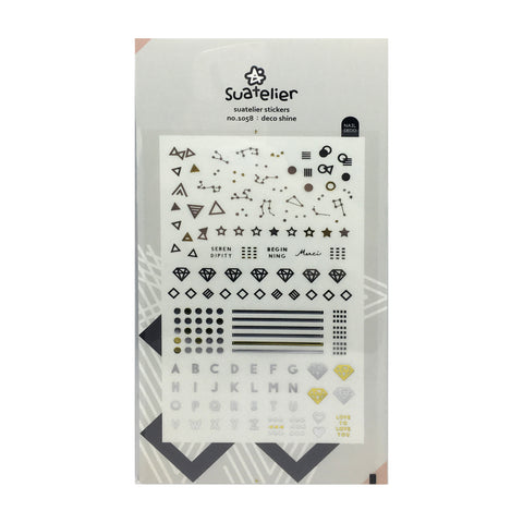 Suatelier 'Deco Shine' Stickers