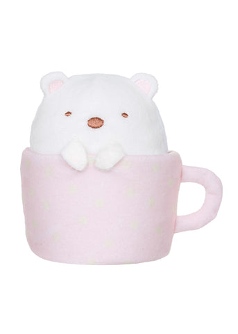 Summikogurashi Shirokuma in a Mug Plush