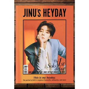 JINU (WINNER) 1ST SINGLE ALBUM 'JINU'S HEYDAY' + POSTER
