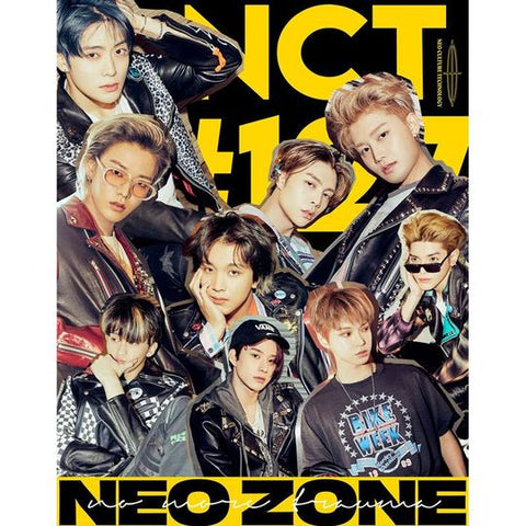 NCT 127 2ND ALBUM REPACKAGE 'NCT #127 NEO ZONE : THE FINAL ROUND'