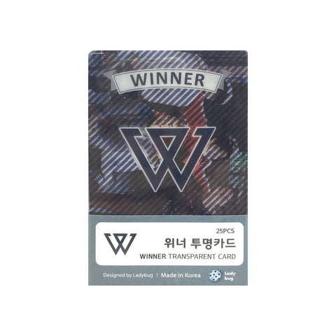 Winner Transparent Cards