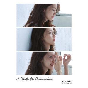 YOONA (GIRLS' GENERATION) SPECIAL ALBUM 'A WALK TO REMEMBER' + POSTER