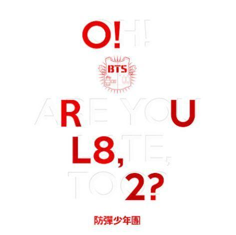 BTS FIRST MINI ALBUM 'O!RUL8,2?'