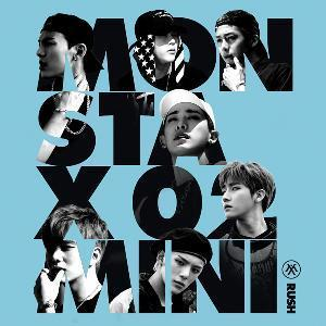 MONSTA X 2ND MINI ALBUM 'RUSH'
