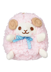 Amuse Pink Sheep Keychain