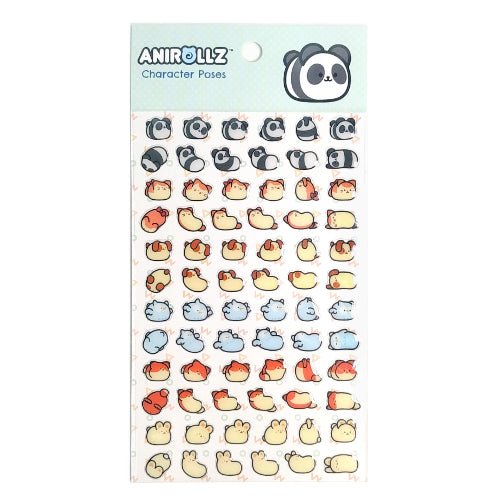 Anirollz Epoxy Stickers