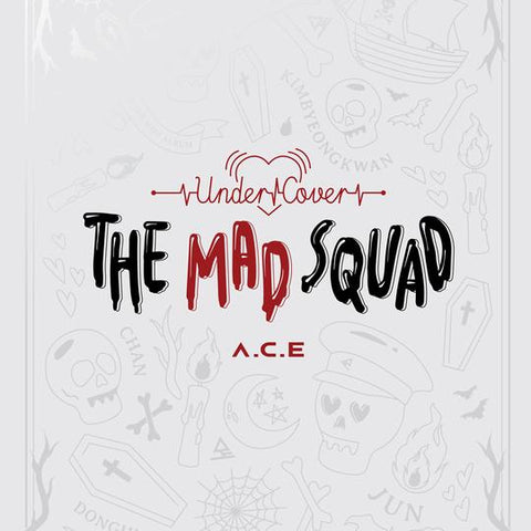 A.C.E 3RD MINI ALBUM 'UNDER COVER : THE MAD SQUAD'