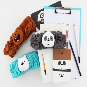 We Bare Bears Wash Headband