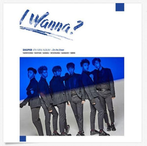 SNUPER 4TH MINI ALBUM 'I WANNA?'