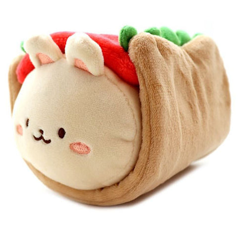Anirollz - Bunniroll Plush w/ Hot Dog Blanket (Small)
