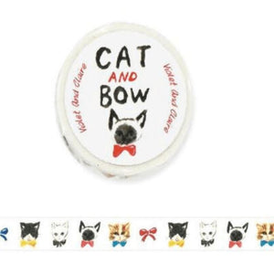 Cat and Bow Washi Tape