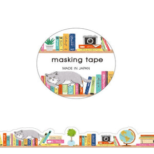 Bookshelf Die Cut Washi Tape