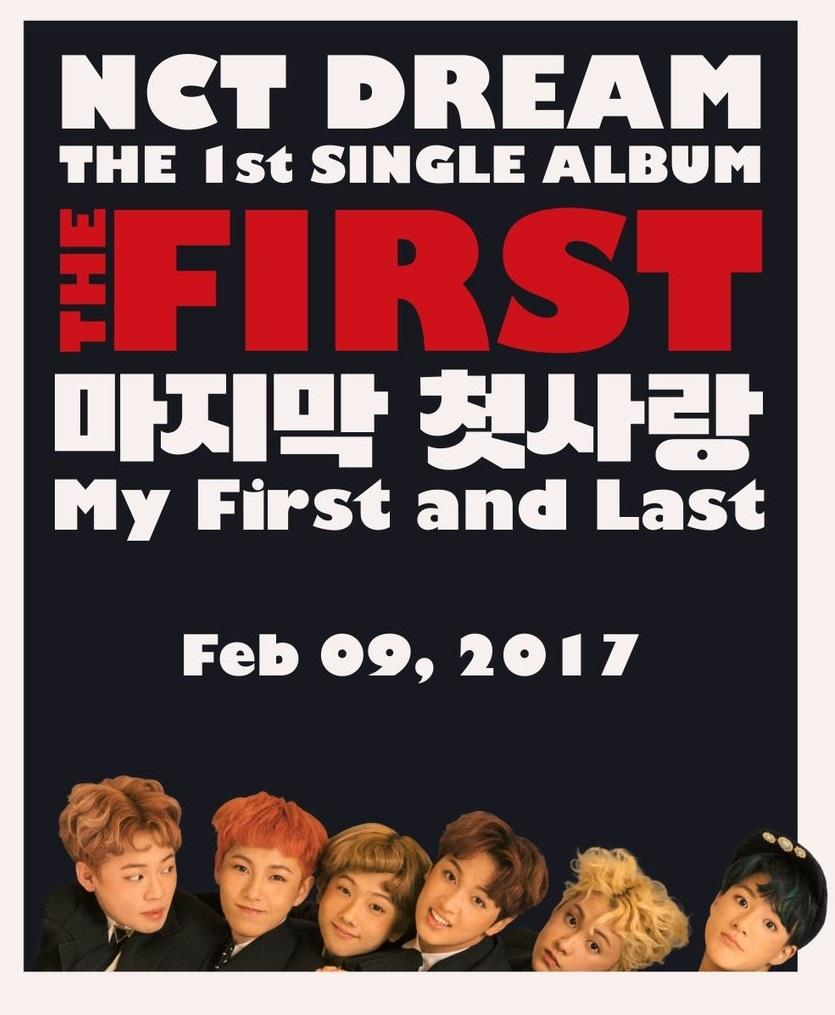 NCT DREAM - THE FIRST (1ST SINGLE ALBUM)