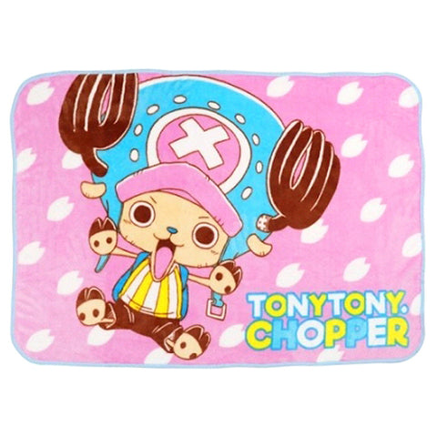 ONE PIECE CHOPPER FLEECE THROW BLANKET