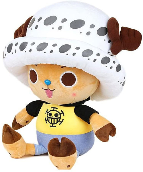 One Piece Toei Animation Tony Tony Chopper Costume Trafalgar Law Anime Manga Plush Toy 12""