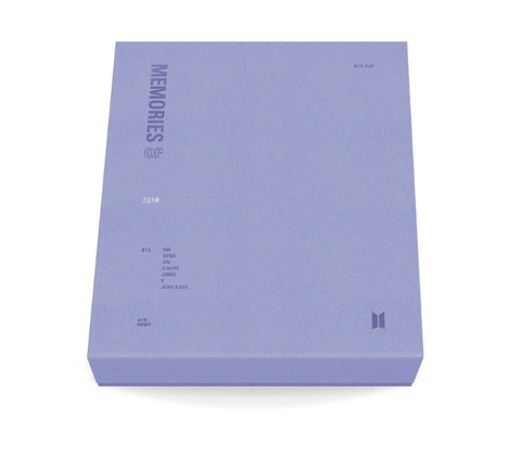 BTS MEMORIES OF 2018 BLU-RAY DVD