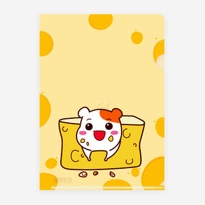 Ebichu File Holder A4 - Cheese