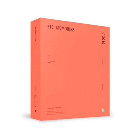 BTS 'MEMORIES OF 2019' DVD