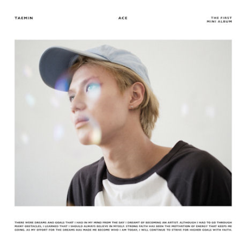 TAEMIN 1ST MINI ALBUM 'ACE'