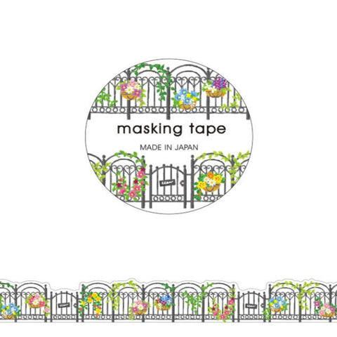 Garden Fence Die Cut Washi Tape