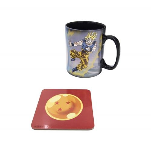 dragon-ball-z-goku-vs-kid-buu-magic-mug-cup-cup-coaster-gift-set