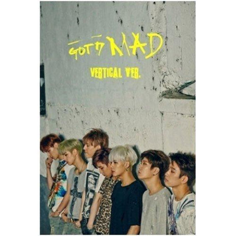 GOT7 - [ MAD ] MINI ALBUM VERTICAL.VER CD