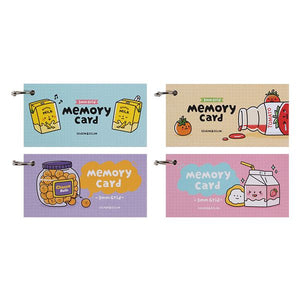 Convenience Store Grid Memory Cards