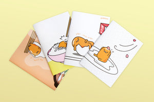 GUDETAMA A5 NOTEBOOK THE LAZY EGG