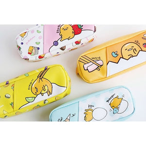 GUDETAMA POCKET SQ. PENCIL POUCH (THE LAZY EGG)