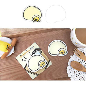 Gudetama GU 2732 Bread Cream Memo, Multicolor