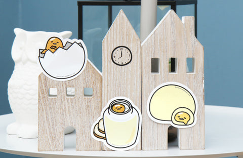 Gudetama Sticky Memo 3pcs 1 Set