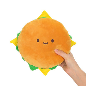 Hamburger Plush Hamburger Cushion Pillow Plush Cool Plush Toy 7.5 inch