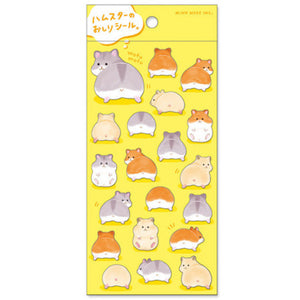 Mind Wave Hamster Butt Sticker