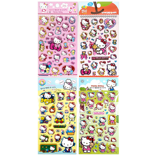 HELLO KITTY HAPPINESS STICKERS