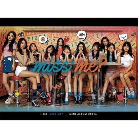 I.O.I - [Miss Me?] 2nd Mini Album CD