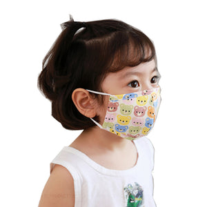 Kid Face Mask 3-Ply 100% Cotton Washable Reusable