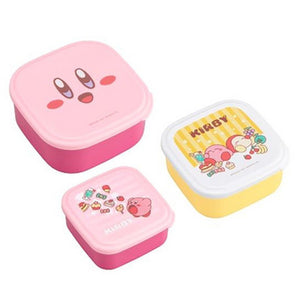 Kirby Food Container 3 PCS Set