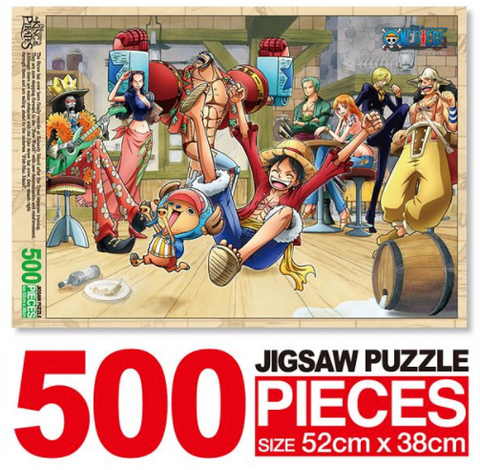 ONE PIECE 500 PARTY TIME PUZZLE